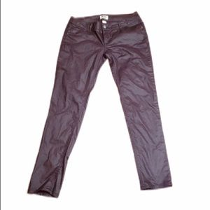 💖4/$25 Mudd Wine Colored Stretch Jean Pants 11